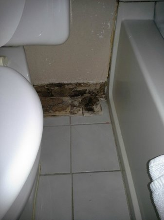 Super 8 Richmond Airport VA: bathroom in my room 212