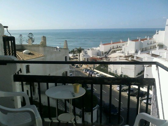 Apartamentos Soldoiro: view from apartment 26, sun arrived about 10.30am