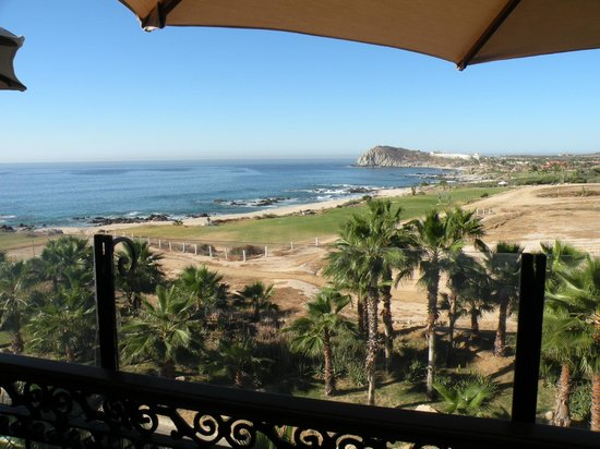 Hacienda del Mar Los Cabos: view from Girasoles! (breakfast)