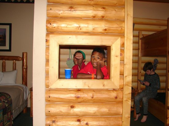 Great Wolf Lodge: Rooms with Cabins and Video games