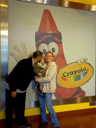 Crayola Experience : Had a great time!