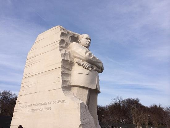 Martin Luther King, Jr. Memorial: nice view of monument