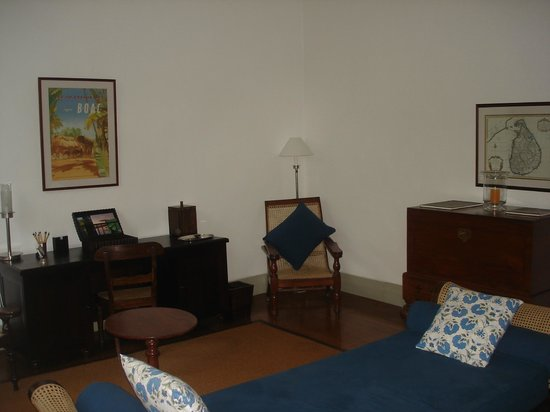 Interior of Room 12 at Amangalla Hotel in Galle