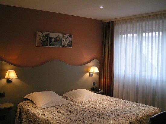 Au Soleil- hotel et restaurant : Chambre Confort