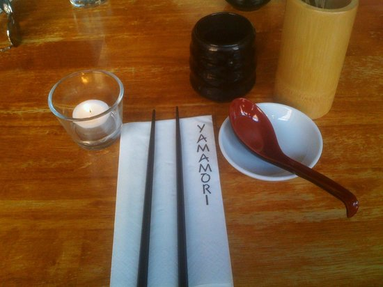 Yamamori Noodles : Can't wait for my food