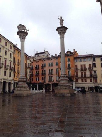 Piazza dei Signori: Le colonne