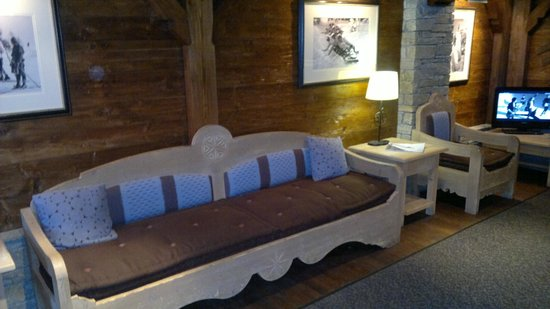 Hotel Le Portetta: Ski room