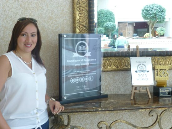 JW Marriott Hotel Quito: Premios Tripadvisor