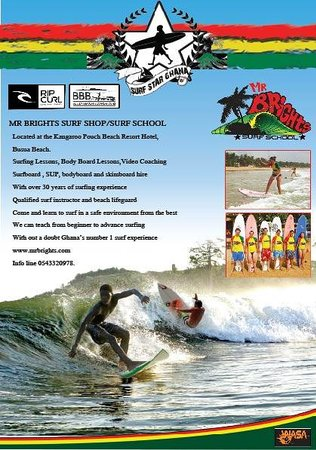 Mr Brights Surf School: Promo