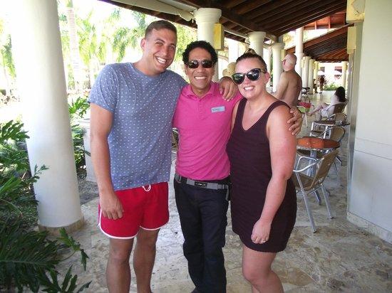 Dreams Palm Beach Punta Cana: Franklin THOMSON Rep