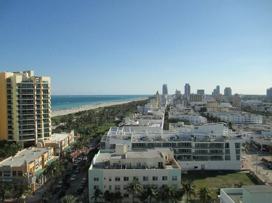 Royal Palm South Beach Miami, A Tribute Portfolio Resort: Looking out from our room