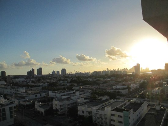 Royal Palm South Beach Miami, A Tribute Portfolio Resort: City View from our room