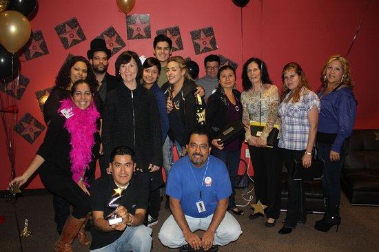 Hostelling International - Los Angeles/Santa Monica: Staff awards show