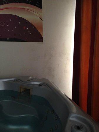 Hotel La Villa Resort : Muffa sui muri