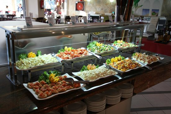 Hotel Dunas Suites and Villas Resort: Auswahl am Buffet