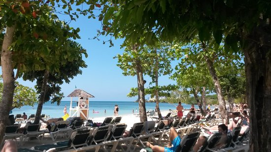 ClubHotel Riu Negril: spiaggia fronte resort