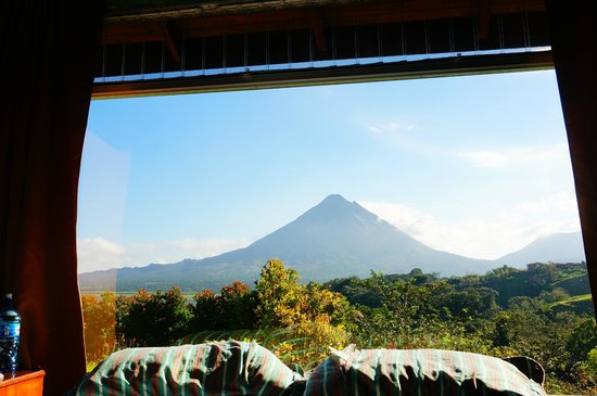 Hotel Castillo del Arenal: View out of the Room