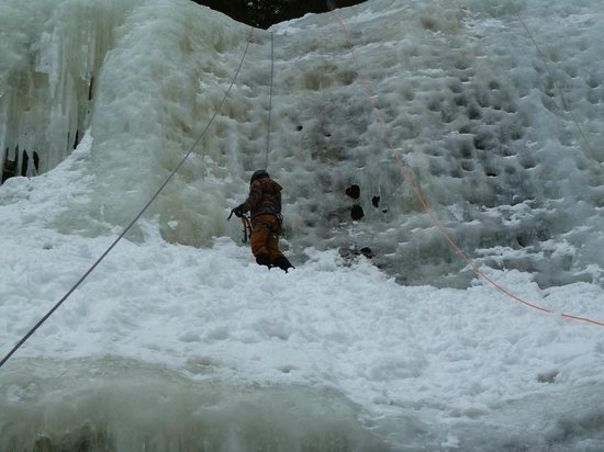 International Mountain Climbing School: Training Day - Wall of Ice