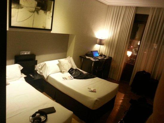 Hotel Regina : Cuarto doble (renovado)