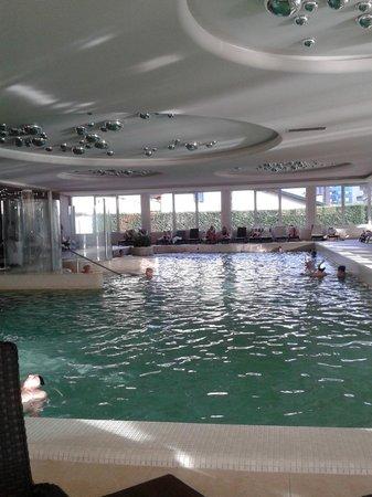 Terme Venezia Hotel: VISTA DAL BAR