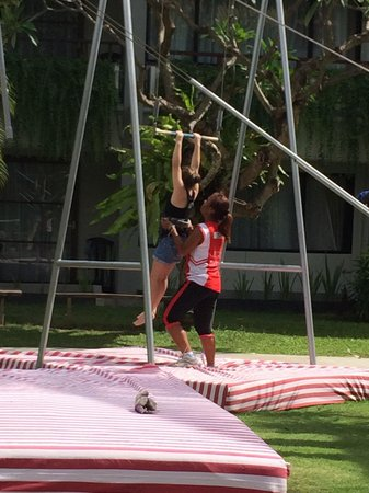 High Flyers Bali Trapeze School: A must do!