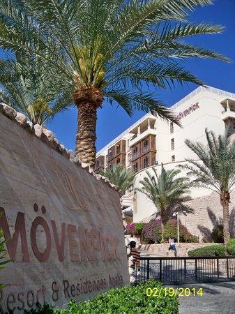 Movenpick Resort & Residences Aqaba : Entrance