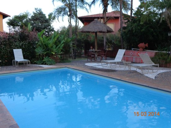 Hotel Pousada Aguas de Bonito: área  piscina