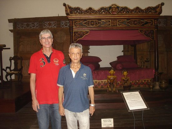 Museo Nacional: Traditional furniture at the National Museum in Jakarta