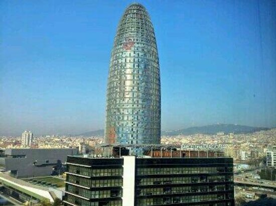 Novotel Barcelona City: View from 14th Floor
