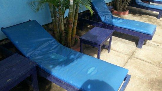 Les Flots bleu : Hésitez à vous allonger...