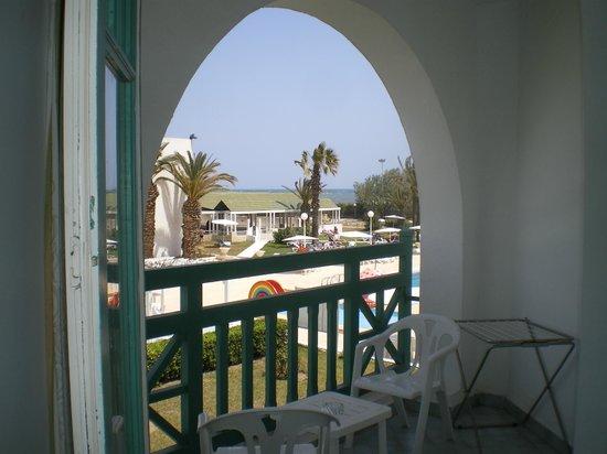 El Mouradi Cap Mahdia: La vue de la chambre