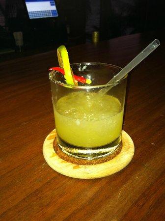 Yemaya Island Hideaway & Spa: one of their famous drinks!