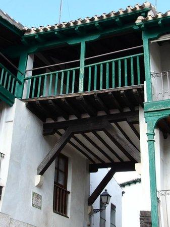 Plaza Mayor de Chinchón: Detalle de un balcón