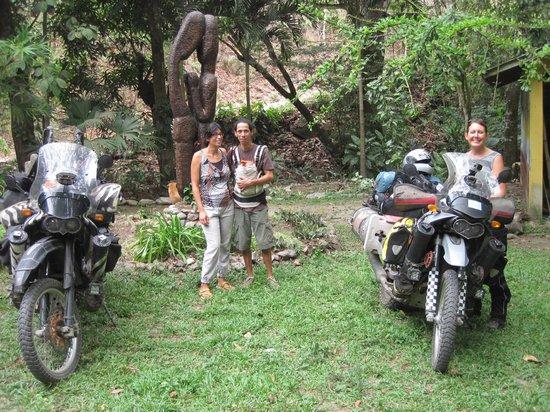 "EcoLodge ""La Bonita"": The owners in front of La Bonita"