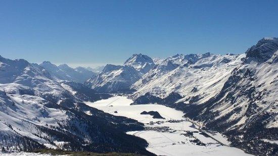 Kulm Hotel St. Moritz: Mountain View