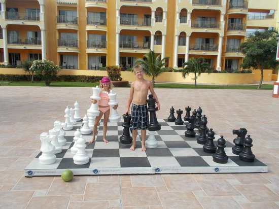 The Royal Haciendas All Suites Resort & Spa: Fun at the hotel