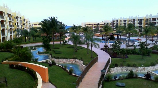 The Royal Haciendas All Suites Resort & Spa: View from our room