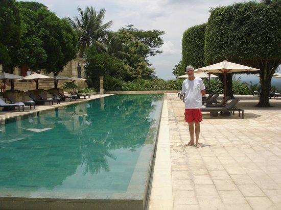 Amanjiwo Resorts: Main swimming pool at Amanjiwo Hotel in Borobudur