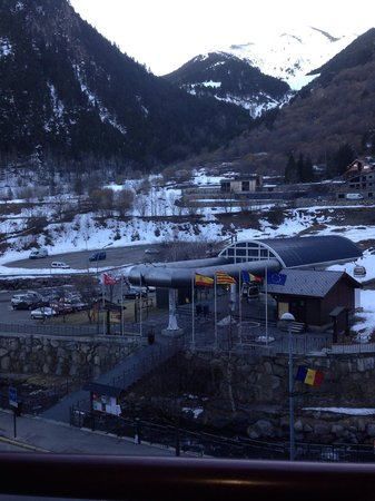 Hotel Montane: View from room