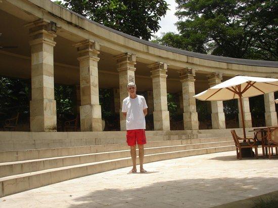 Amanjiwo Resorts: Main pool area of Amanjiwo Hotel in Borobudur