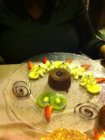 Da Mamo : Tortino al cioccolato