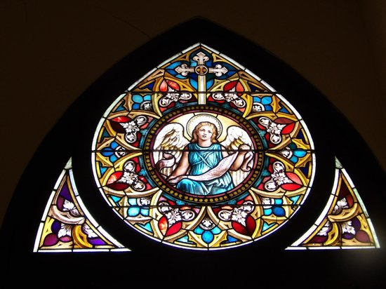 St. Patrick Cathedral : Stained glass window