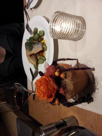 Hotel Spitzhorn: Dinner at the Stpitzhorn Gstaad