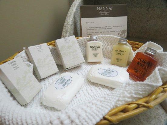 Nannai Resort & Spa: mimos no apartamento