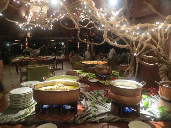 Nannai Resort & Spa: o jantar, no restaurante