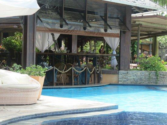 Nannai Resort & Spa: vista externa do restaurante