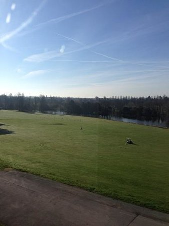 Donnington Grove Hotel and Country Club: view from room 303