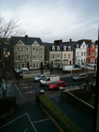 Shandon Bells: Vista dalla camera frontale all'ultimo piano.