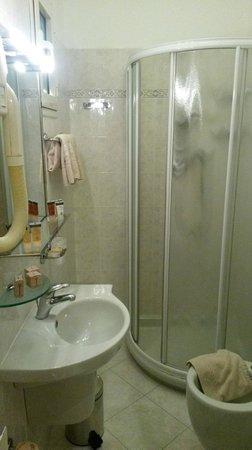 Bologna Hotel Pisa : Vue d'ensemble de la salle de bains