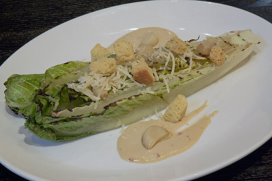 Rafters Restaurant and Lounge: Grilled Caesar at Rafters